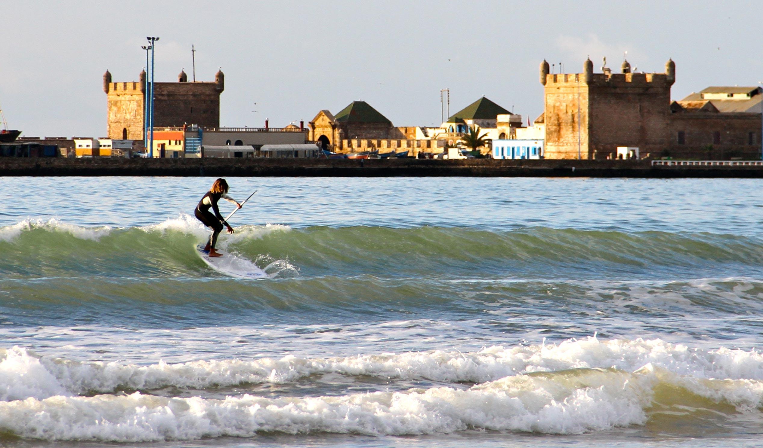 Surf em Essaouira - Marrocos