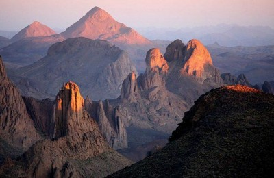 deserto e montanha