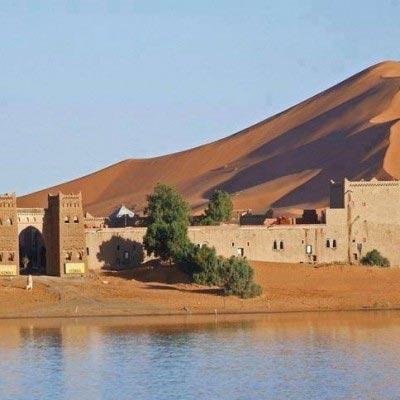 kasbah no deserto