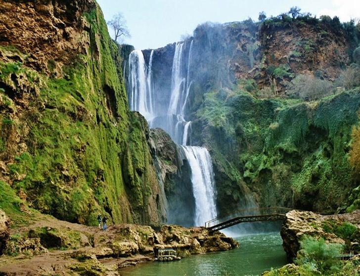 Cascatas de Ouzoud - Marrocos