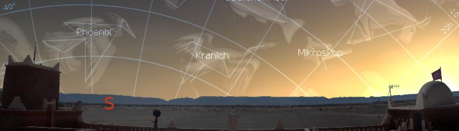 沙漠天文观星之夜