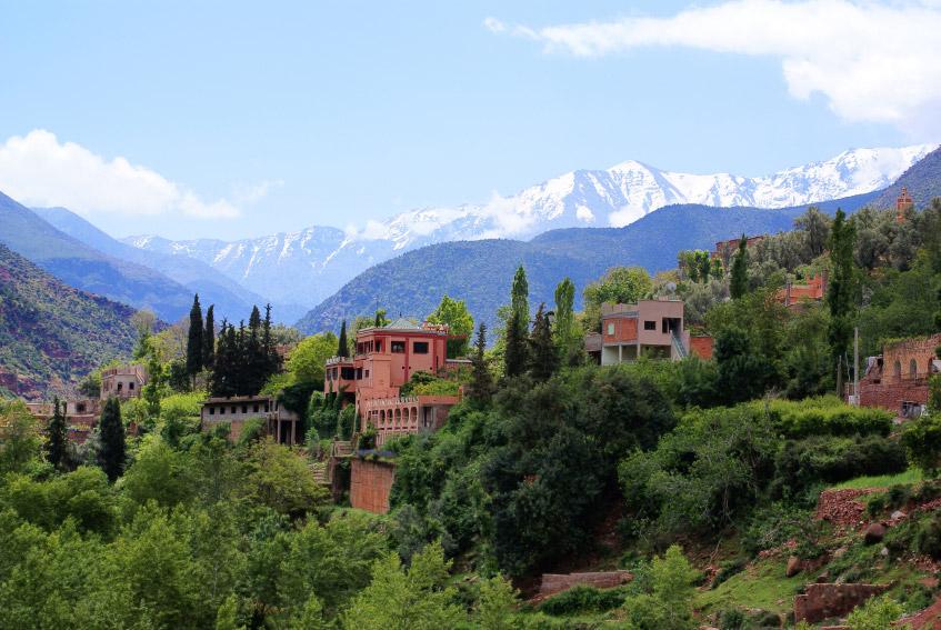 Vale de Ourika - Marrocos