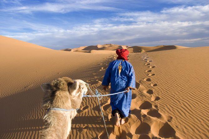 desert sand Morocco