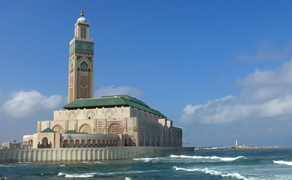 Mesquita Casablanca- Marrocos