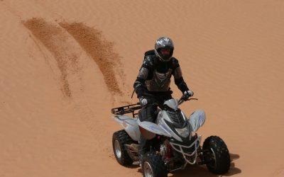 沙漠摩托运动