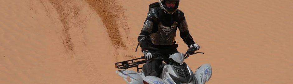 撒哈拉沙漠摩托骑行
