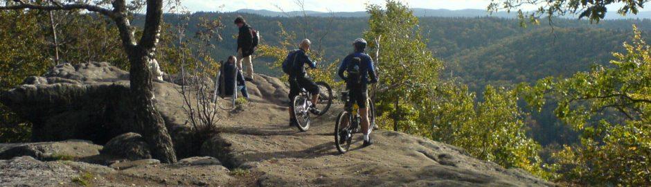 骑自行车环阿特拉斯山