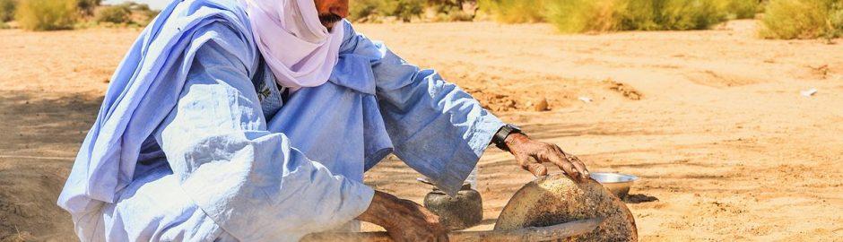 沙漠中做面包(沙包)